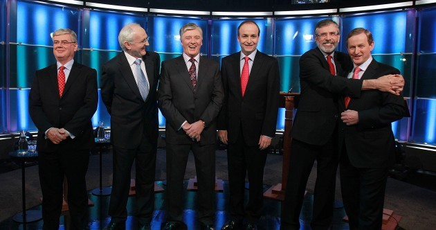 Gallery: backstage at RTÉ's five-way election debate