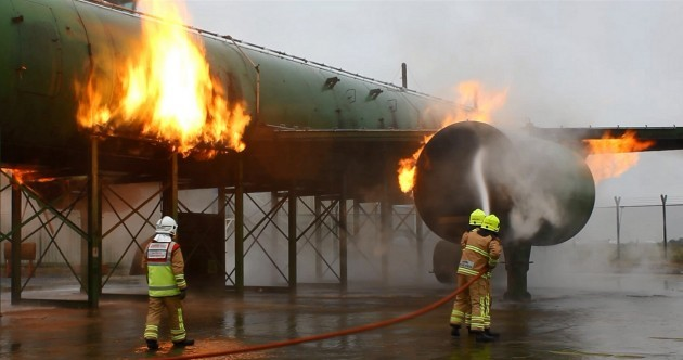 WATCH: Smoke and fire training for Dublin Airport firefighters