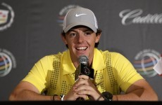 Caroline the caddy and lunch with The Bear: 6 things we learned from Rory's latest interview