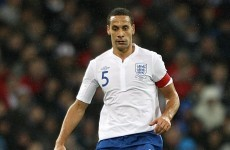 Rio Ferdinand hits out at England fans' 'racist' chants