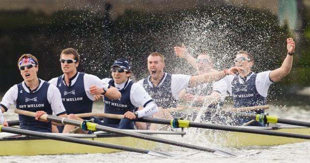 Oxford win controversy-free Boat Race
