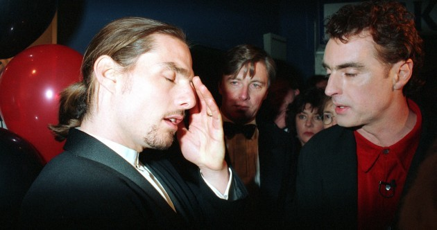 Tom Cruise partying with Pat Kenny in 1995 (photos)