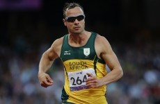 Photos of Oscar Pistorius training in blades published in South Africa