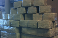 Man arrested as cannabis worth €570,000 seized