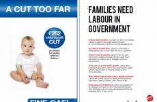 Labour attacks FG in child benefit newspaper ads