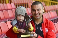 Sligo goal-machine Anthony Elding wins March award