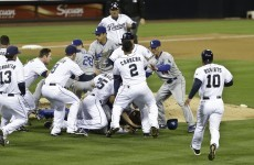 Bench-clearing brawl erupts between Dodgers and Padres