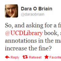 Tweet Sweeper: Dara O�Briain�s overdue library book