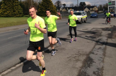 Clane RFC members embark on 170km fundraising run to Thomond Park