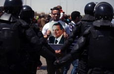 Retrial of Egypt's Mubarak collapses in chaos