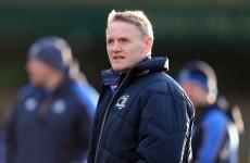 IRFU confirm approach to Leinster coach Joe Schmidt