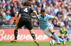 FA take no action against Sergio Aguero after 2-footed stamp on David Luiz