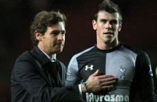 'Man City will fear the return of Bale' - Villas-Boas