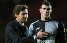 'Man City will fear the return of Bale' – Villas-Boas
