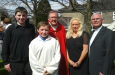 Two kids from Cork to be confirmed by... Pope Francis