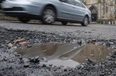 Pothole politics not on the agenda after all...