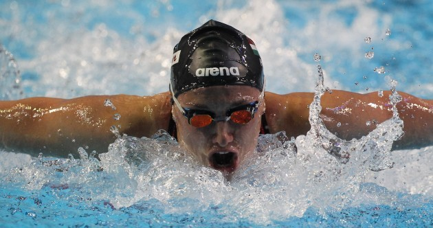 One of the world's top swimmers is competing in Ireland this weekend