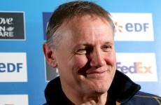 Call me maybe? Joe Schmidt expects Ireland decision soon