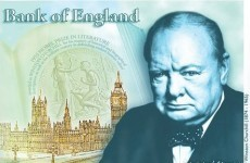 England chooses Winston Churchill as the new face of the £5 note
