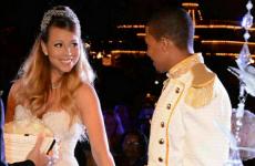 Mariah Carey dressed up like a princess and renewed her vows at Disneyland