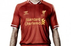 Here's your first look at the new Liverpool home kit