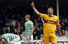 Higdon arrested hours after being named Scotland's Player of the Year