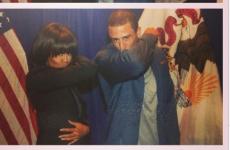 Colin Kaepernick teaches Michelle Obama the art of Kaepernicking