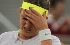 Victoria Azarenka goes all John McEnroe on a tennis umpire in Madrid