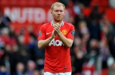 Paul Scholes is hanging up the boots - for good this time