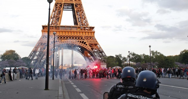 PSG Ultras clash with police as title party turns sour