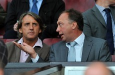 David Platt leaves Man City after Mancini sacking