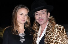 "Designer John Galliano arrested after ""anti-semitic rant"" at couple in Paris cafe"