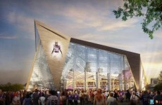 The plans for this $975 million NFL stadium look like Superman's Fortress of Solitude