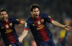 Alba admits Messi took risks despite injury
