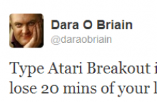 Tweet Sweeper: Dara O'Briain falls into a Google vortex