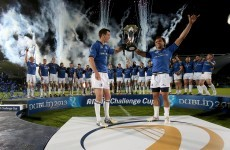 'Myself and Leo thought it was fitting for the lads to lift the cup' - Jamie Heaslip