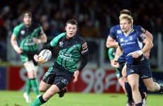 Cheers Leinster! Connacht players celebrate another year of Heineken Cup rugby