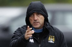 Manchester City players celebrated Roberto Mancini's sacking - reports