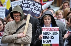 Pics: 300 turn out for rally on planned abortion legislation