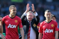 Watch highlights from Alex Ferguson's crazy final game at Man United