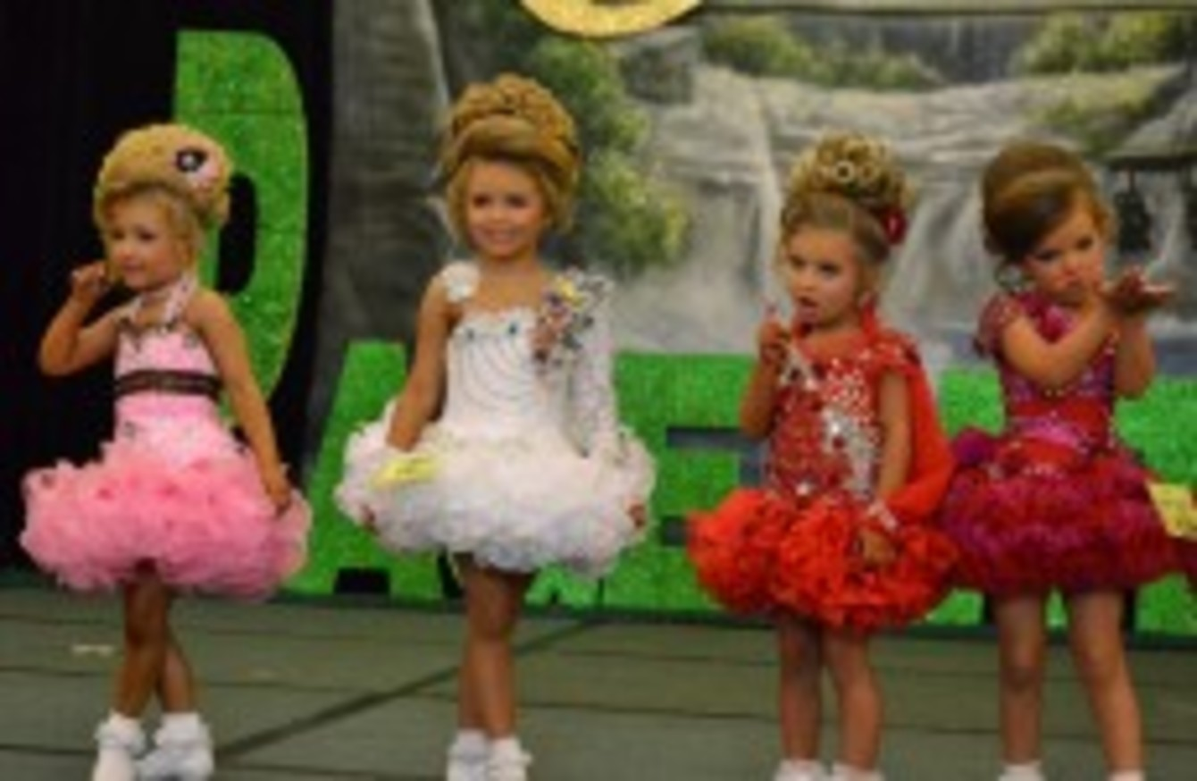poll would you enter your child in a beauty pageant · thejournal ie american organisers are set to stage a child beauty contest in in