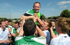 In pics: London celebrate their historic victory over Sligo