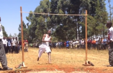 These Kenyan schoolboys doing the high jump will make your day better