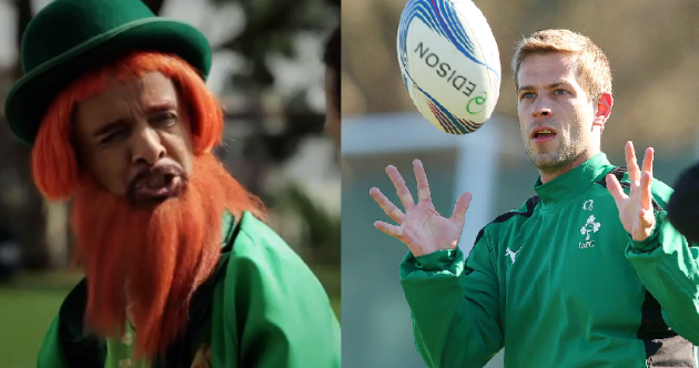 Simon Zebo: I thought the USA Rugby leprechaun was Paul Marshall