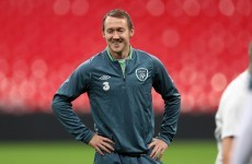 In pictures: Ireland players train at Wembley ahead of tomorrow's big game