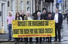 Which TDs did not pay the property tax by the final deadline?