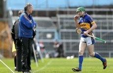 Tipp boss admits Corbett unlikely to start against Limerick