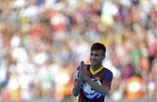 50,000 show up for Neymar's arrival at Barcelona