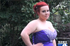 Girl barred from school prom... as her 'breasts were too big'