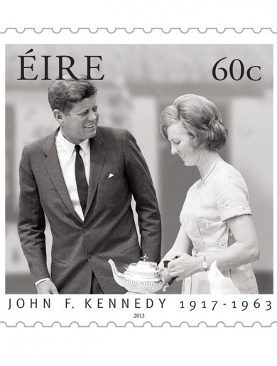 Here's what the JFK 50 stamps look like…